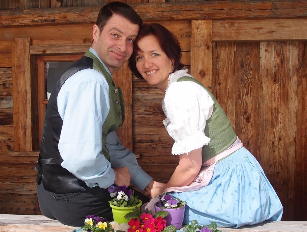 Gastgeber Angelika und Michael