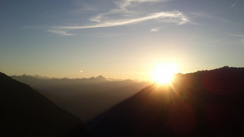 Sonnenuntergang_GeraerHütte