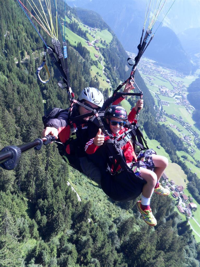 Abenteuer Tandemflug